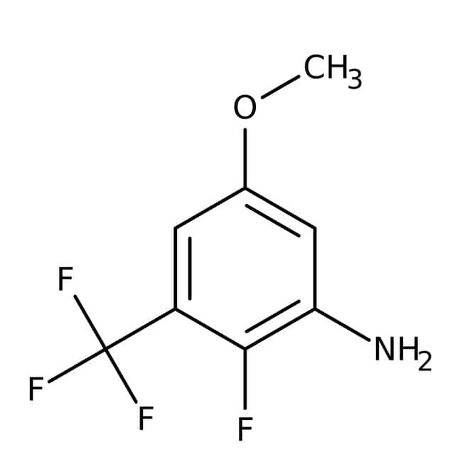 Alfa Aesar™ 2-Fluoro-5-methoxy-3-(trifluoromethyl)aniline, 97% 1g Alfa Aesar™ 2-Fluoro-5-methoxy-3-(trifluoromethyl)aniline, 97%