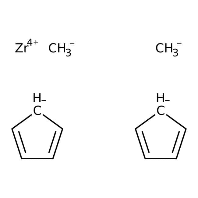 Alfa Aesar™Bis(cyclopentadienyl)dimethylzirconium(IV), 98+% 1g Alfa Aesar™Bis(cyclopentadienyl)dimethylzirconium(IV), 98+%