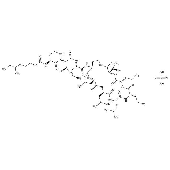 Colistin sulfate salt, ACROS Organics™ 250mg Colistin sulfate salt, ACROS Organics™