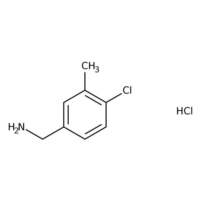 4-Chloro-3-methylbenzylamine hydrochloride, 97%, ACROS Organics™ 1g prodotti trovati