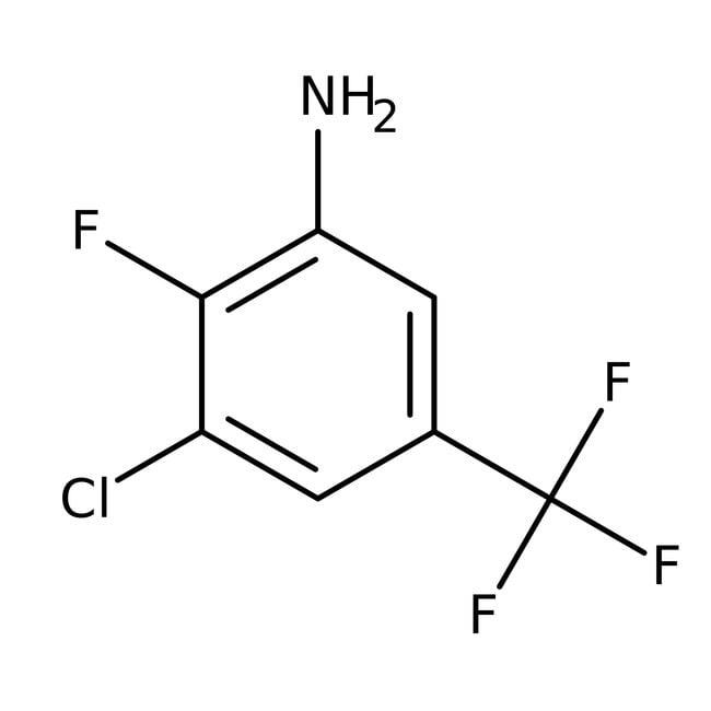 Alfa Aesar™3-Chlor-2-fluor-5-(trifluormethyl)anilin, 97% 1g Alfa Aesar™3-Chlor-2-fluor-5-(trifluormethyl)anilin, 97%