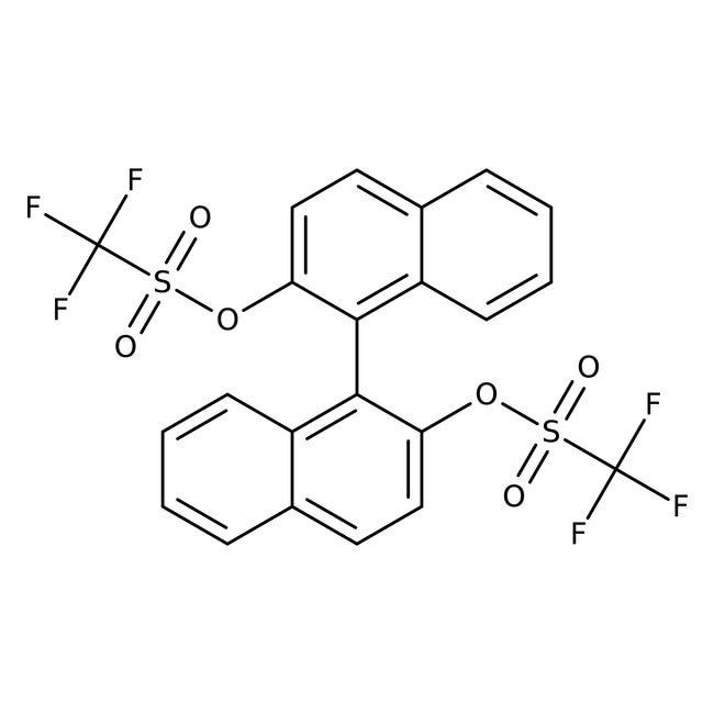 (R)-(-)-1,1'-Binaphthol-2,2'-bis(trifluoromethanesulfonate), 97%, ACROS Organics