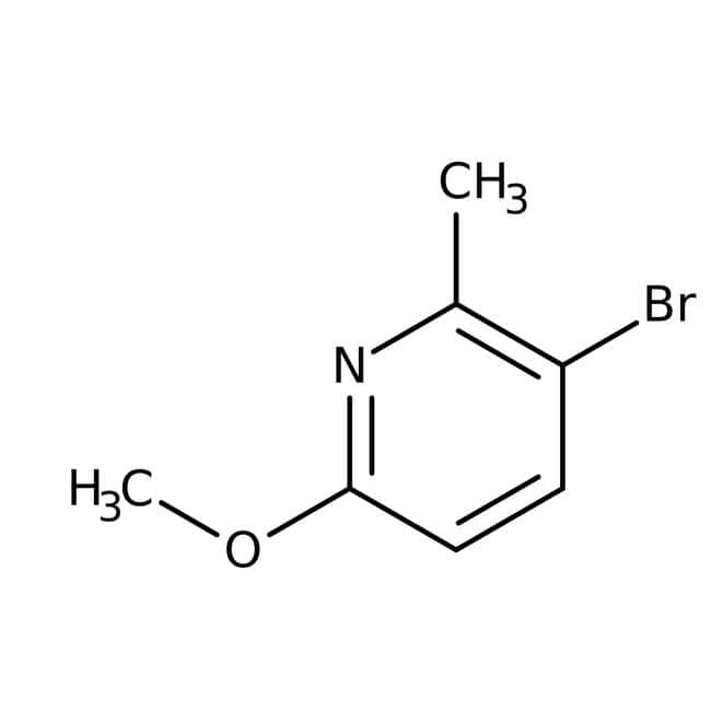Alfa Aesar™ 3-Bromo-6-methoxy-2-methylpyridine, 98%