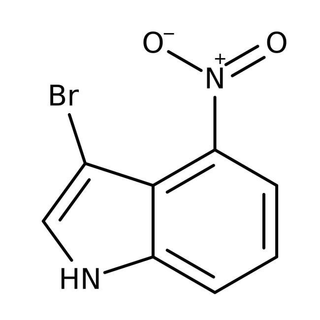 Alfa Aesar™3-Bromo-4-nitroindole, 97% 250mg Alfa Aesar™3-Bromo-4-nitroindole, 97%