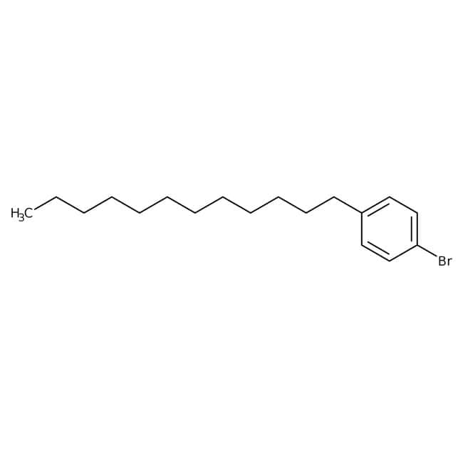 Alfa Aesar™1-Bromo-4-n-dodecylbenzene, 98% 5g Alfa Aesar™1-Bromo-4-n-dodecylbenzene, 98%