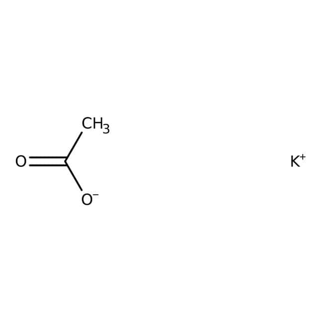 Acetic acid, potassium salt, 99+%, for biochemistry, ACROS Organics