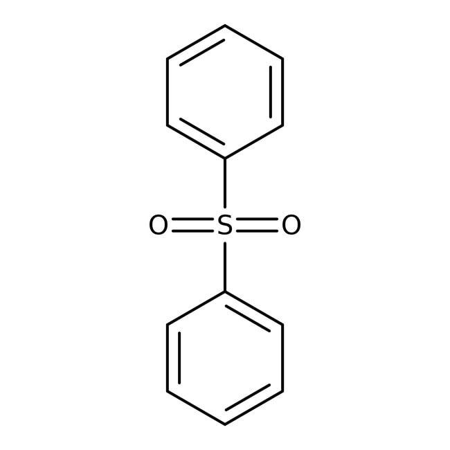 Phenyl sulfone, 97%, ACROS Organics™ 1kg; Plastic bottle Phenyl sulfone, 97%, ACROS Organics™