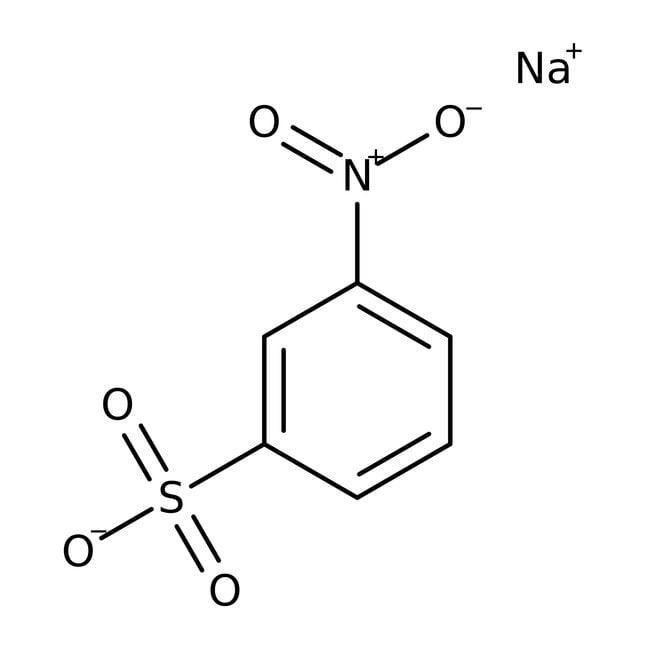 3-Nitrobenzenesulfonic acid, sodium salt, 99%, ACROS Organics™ 1kg; Plastic bottle 3-Nitrobenzenesulfonic acid, sodium salt, 99%, ACROS Organics™