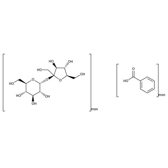 Alfa Aesar™Sucrose octabenzoate, 98% 100g Alfa Aesar™Sucrose octabenzoate, 98%