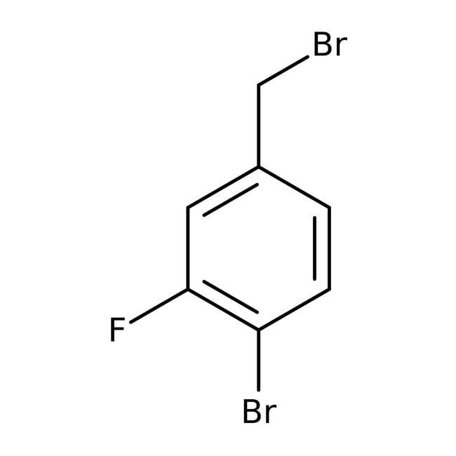 Alfa Aesar™4-Bromo-3-fluorobenzyl bromide, 96% 1g prodotti trovati