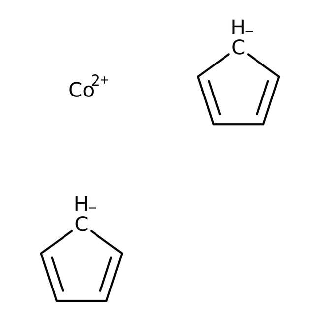 Cobaltocene, 98%, ACROS Organics™ 1g; Glass bottle Cobaltocene, 98%, ACROS Organics™