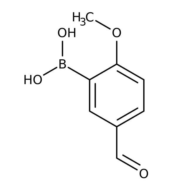 2-Methoxy-5-formylphenylboronic acid, 97%, ACROS Organics