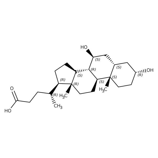 Alfa Aesar™Ácido ursodesoxicólico, 99% 5g Alfa Aesar™Ácido ursodesoxicólico, 99%