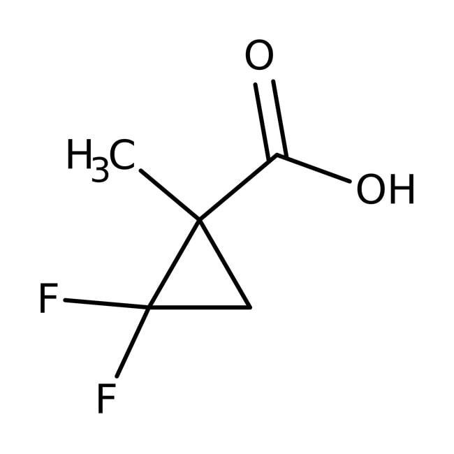 (±)-2,2-Difluoro-1-methylcyclopropanecarboxylic acid, 97%, ACROS Organics™