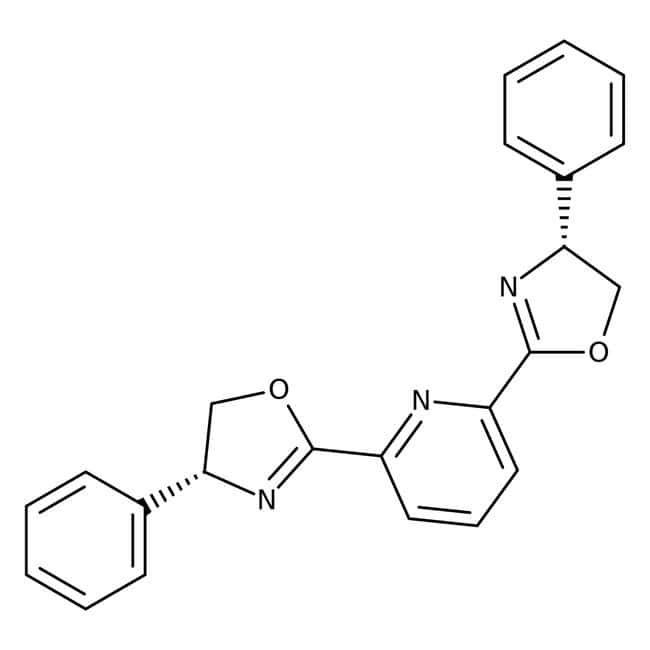 2,6-Bis[(4R)-phenyl-2-oxazolin-2-yl]pyridine, 98%, ACROS Organics