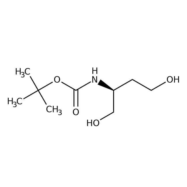 (S)-(-)-2-(BOC-amino)-1,4-butanediol, 97%, ACROS Organics™ 1g (S)-(-)-2-(BOC-amino)-1,4-butanediol, 97%, ACROS Organics™