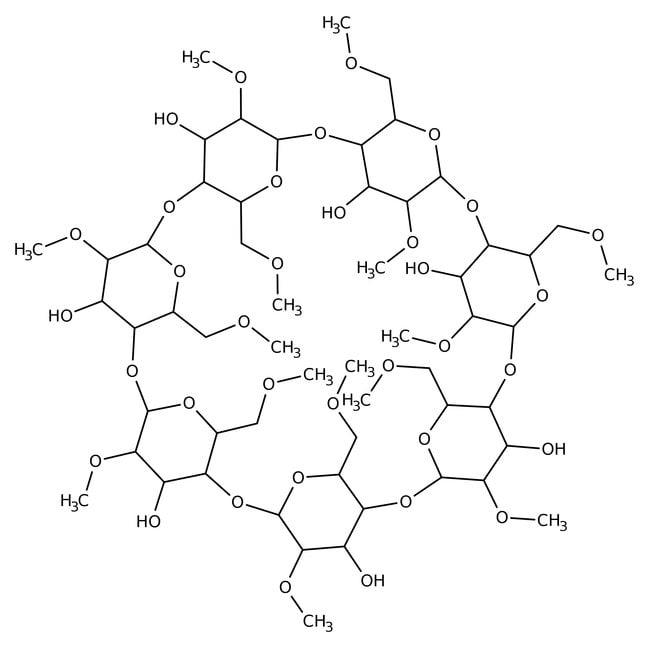 Methyl-beta-cyclodextrin, average Mw 1310, Acros Organics