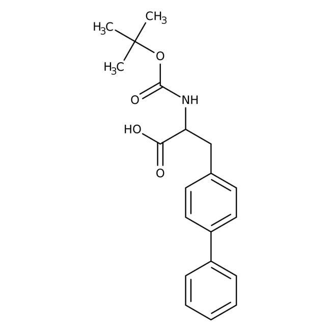 Alfa Aesar™N-Boc-3-(4-biphenylyl)-D-alanine, 95% 1g Alfa Aesar™N-Boc-3-(4-biphenylyl)-D-alanine, 95%