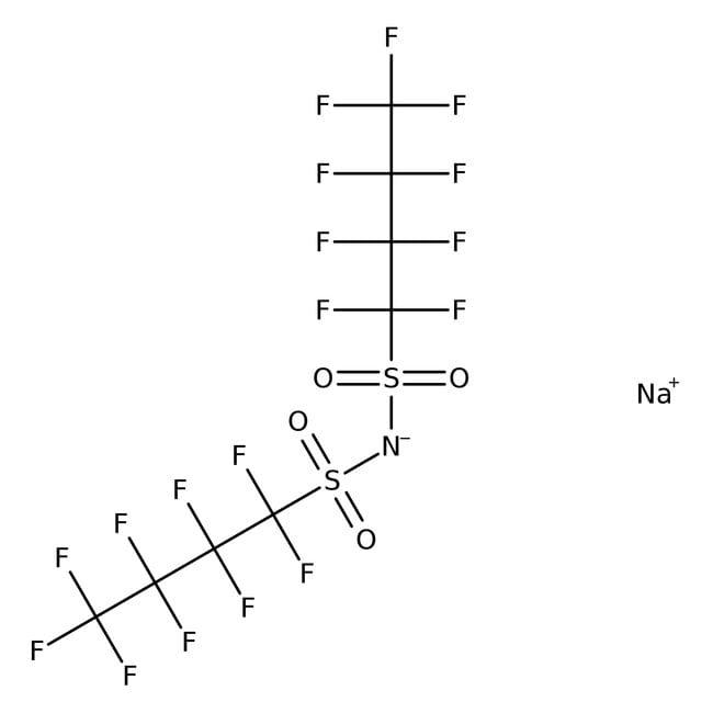 Sodium Bis(nonafluorobutanesulfonyl)imide 97.0+%, TCI America™