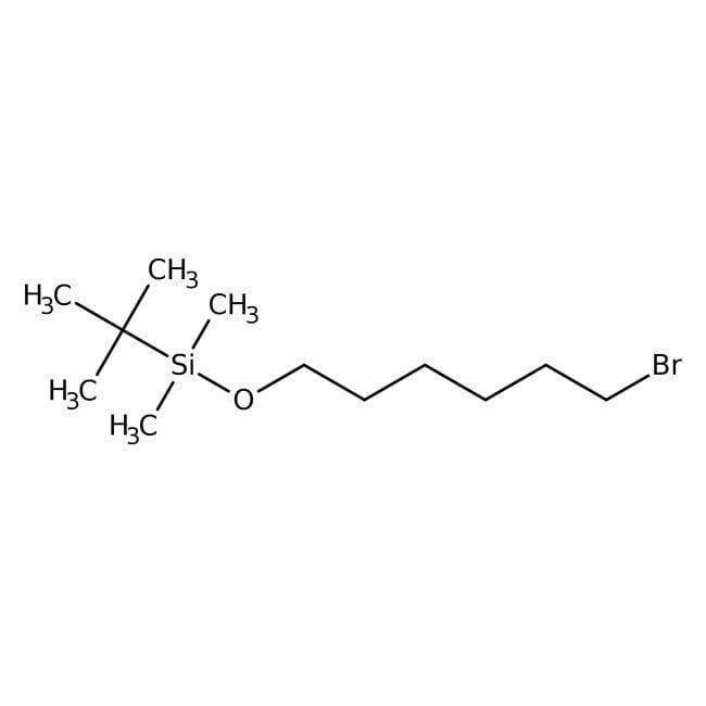 Alfa Aesar™(6-Bromohexyloxy)-tert-butyldimethylsilane, 99% 5mL Alfa Aesar™(6-Bromohexyloxy)-tert-butyldimethylsilane, 99%