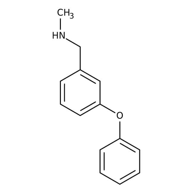 N-Methyl-3-phenoxybenzylamine, 97%, Maybridge™ 5g N-Methyl-3-phenoxybenzylamine, 97%, Maybridge™