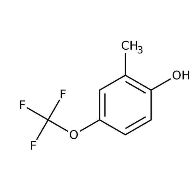 Alfa Aesar™ 2-Methyl-4-(Trifluormethoxy)phenol, 97 % 1 g Alfa Aesar™ 2-Methyl-4-(Trifluormethoxy)phenol, 97 %