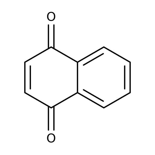 1,4-Naphthoquinone, 99%, ACROS Organics™, contains up to 6% water, ACROS Organics™