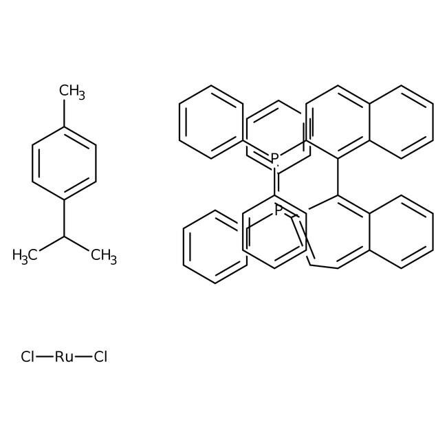 [RuCl(p-cymene)((S)-binap)]Cl 90.0+%, TCI America™