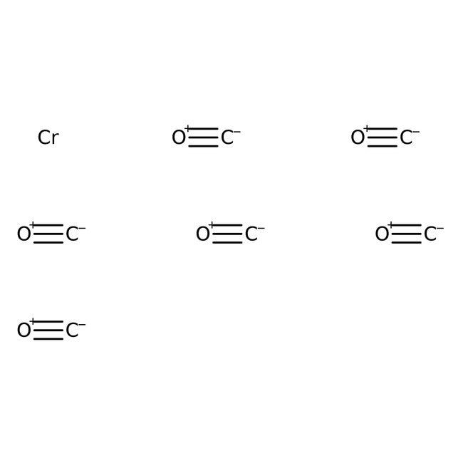 Hexacarbonylchromium, White crystalline, 99%, Alfa Aesar