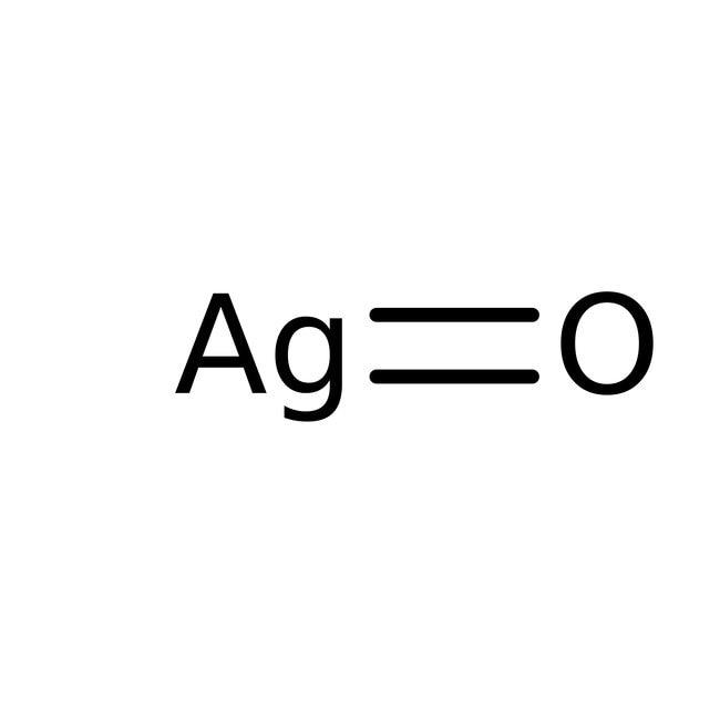 Alfa Aesar™Silver(II) oxide, 99.9% (metals basis), Ag 86.6% min 25g Alfa Aesar™Silver(II) oxide, 99.9% (metals basis), Ag 86.6% min