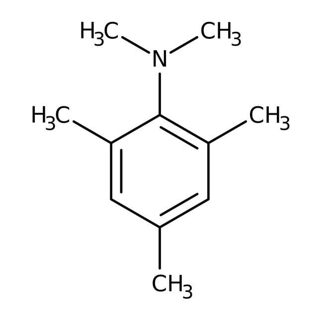 Alfa Aesar™N,N,2,4,6-Pentametilanilina, 98% 25g Alfa Aesar™N,N,2,4,6-Pentametilanilina, 98%