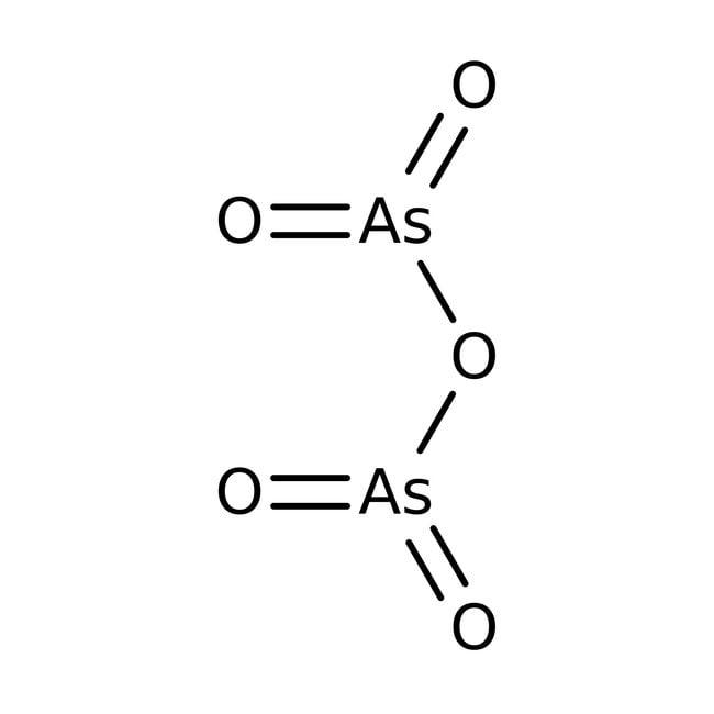 Arsenic(V) oxide, 99.9+%, (trace metal basis), ACROS Organics