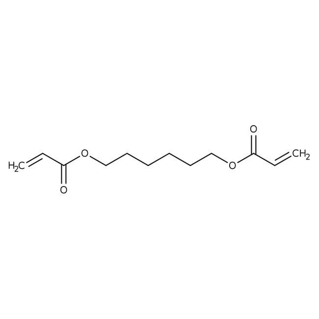 1,6-Bis(acryloyloxy)hexane (stabilized with MEHQ) 85.0+%, TCI America™