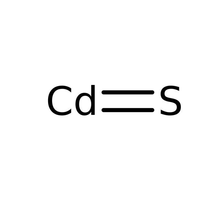 Cadmium Sulfide, Purified, Spectrum