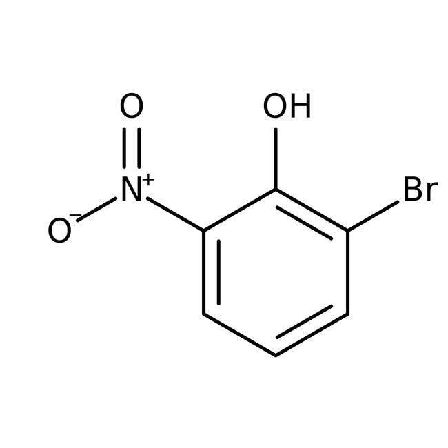 2-Bromo-6-nitrophenol, 97%, ACROS Organics™ 25g 2-Bromo-6-nitrophenol, 97%, ACROS Organics™