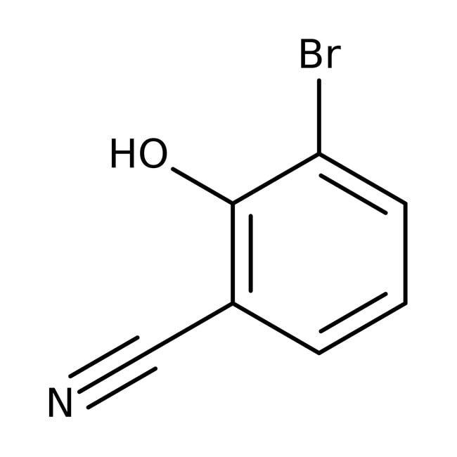Alfa Aesar™3-Bromo-2-hydroxybenzonitrile, 97% 1g Alfa Aesar™3-Bromo-2-hydroxybenzonitrile, 97%