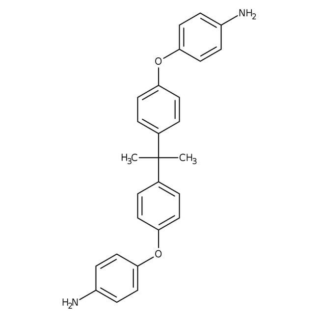 2,2-Bis[4-(4-aminophenoxy)phenyl]propane, 98%, Alfa Aesar™