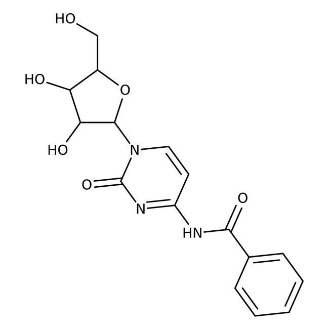 Thermo ScientificN4-Benzoylcytidine, 99% 10g:Biochemical Reagents