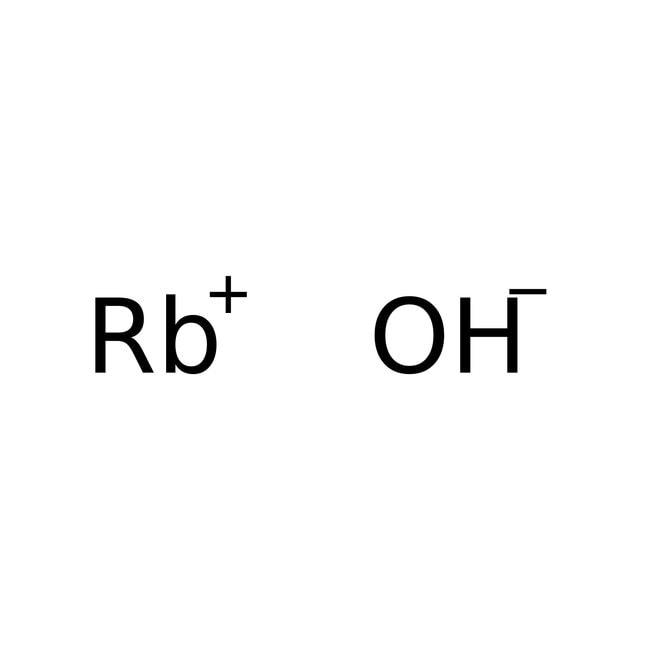 Alfa Aesar  Rubidium hydroxide, 50% w/w aq. soln., 99.6+% (metals basis)