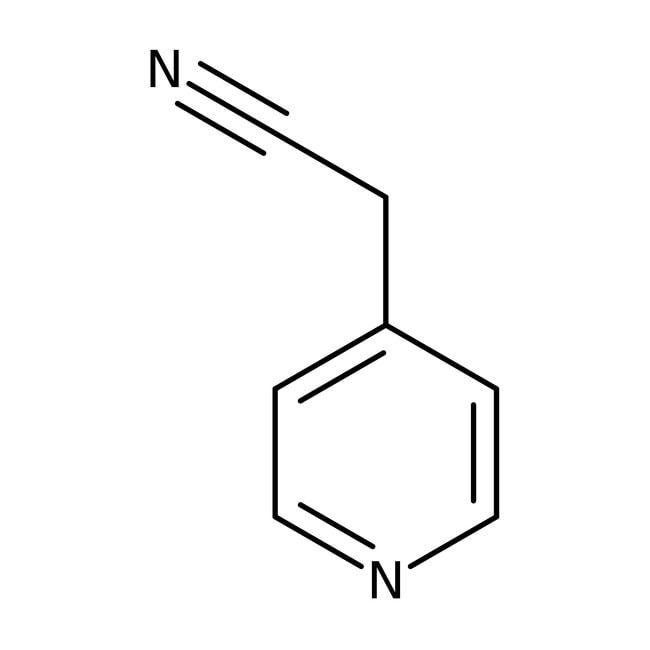 Alfa Aesar™4-Pyridineacetonitrile, ≥97% 250mg Alfa Aesar™4-Pyridineacetonitrile, ≥97%