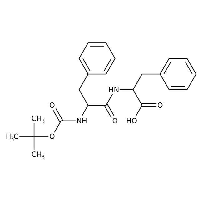 Alfa Aesar™N-Boc-L-phenylalanyl-L-phenylalanine, 95% 1g Alfa Aesar™N-Boc-L-phenylalanyl-L-phenylalanine, 95%