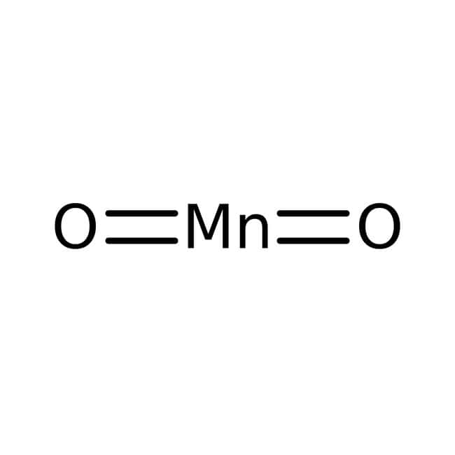 Manganese(IV) oxide, 88%, electrolytically precipitated, active, ACROS Organics™