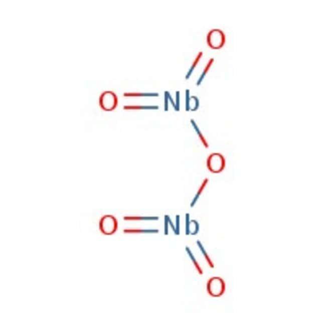 Niobium(V) oxide, 99.99%, (trace metal basis), ACROS Organics