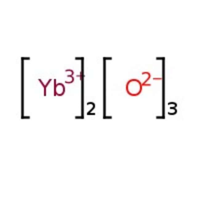 Ytterbium(III) oxide; 99.9% (REO), Alfa Aesar , REacton