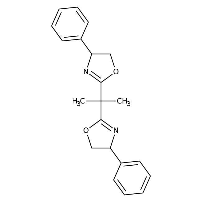 (S,S)-2,2′-Isopropylidenebis(4-phenyl-2-oxazoline) 95.0+%, TCI America™