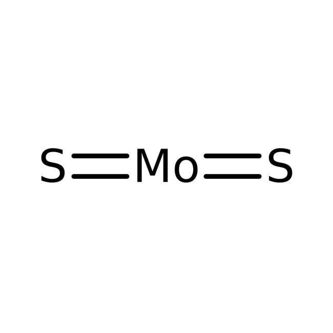 Molybdenum(IV) sulfide, 98.5%, ACROS Organics™ 100g; Glass bottle Molybdenum(IV) sulfide, 98.5%, ACROS Organics™