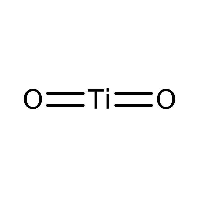 Alfa Aesar™Titanium(IV) oxide, rutile, 99.99% (metals basis)