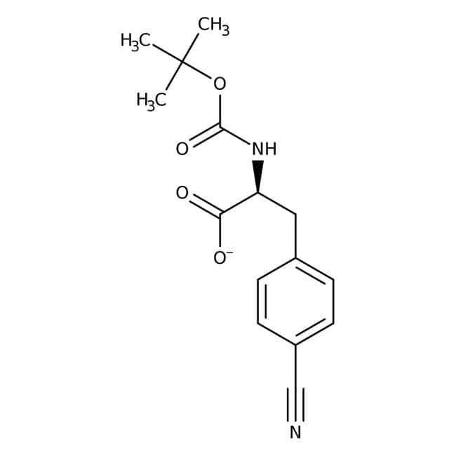 Alfa Aesar™N-Boc-4-Cyano-L-Phenylalanin, 95% 5g Alfa Aesar™N-Boc-4-Cyano-L-Phenylalanin, 95%