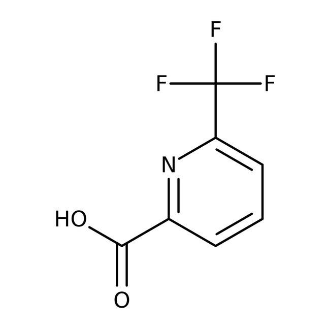 Alfa Aesar™6-(Trifluoromethyl)pyridine-2-carboxylic acid, 98% 250mg Alfa Aesar™6-(Trifluoromethyl)pyridine-2-carboxylic acid, 98%