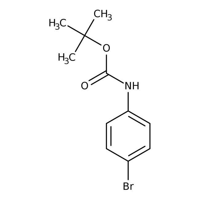 Alfa Aesar™N-Boc-4-bromoaniline, 97%